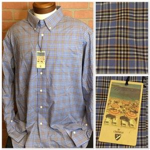 Cremieux Mens button down shirt XXL blue (MM59)